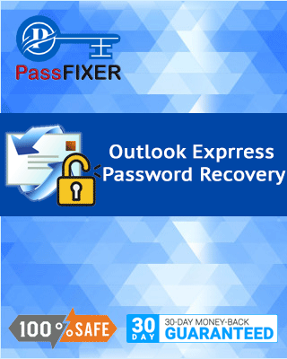 Product box of Outlook Express Password Recovery