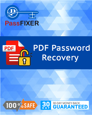 Product box of PDF Password Recovery Tool