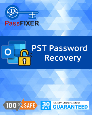 Product box of PST Password Recovery