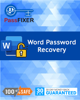 Product box of Word Password Recovery