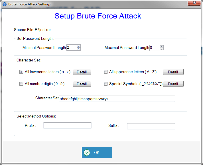 brute force attack settings